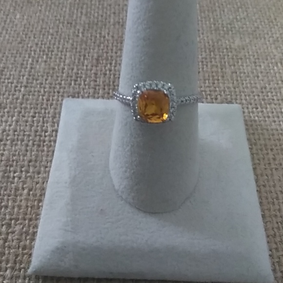 Fragrant Jewels Jewelry - Size 9 Silver Tone Ring